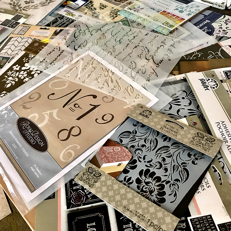 Pile of Stencils