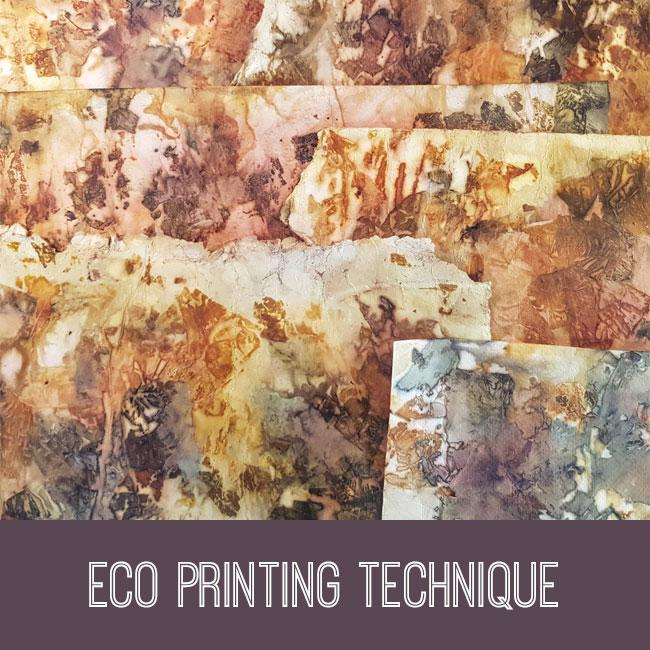 Eco Printing Technique Tutorial