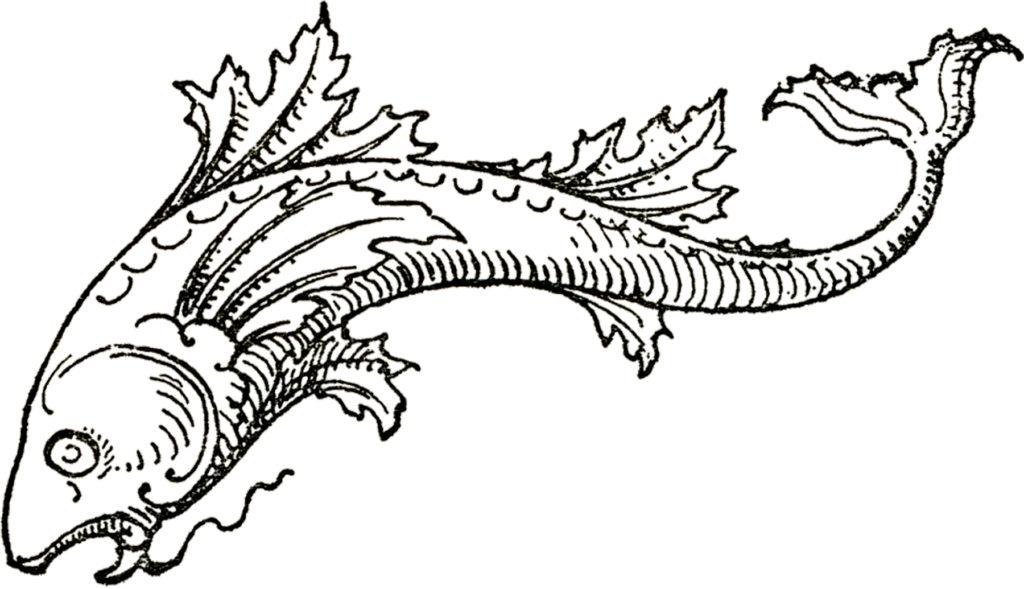 Fancy Fish Mermaid Tail