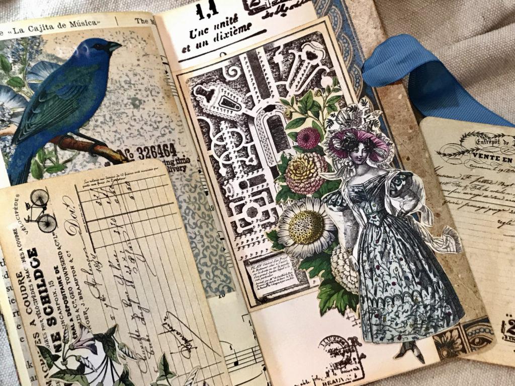 floral garden journal page