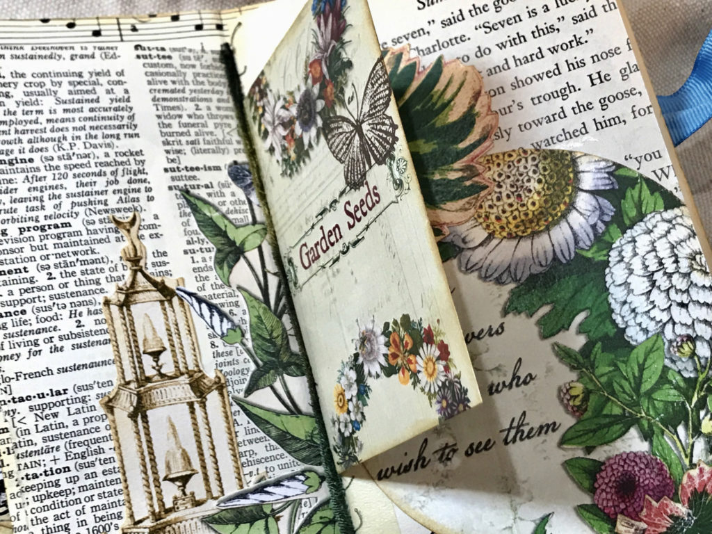 Garden Seed packet junk journal page