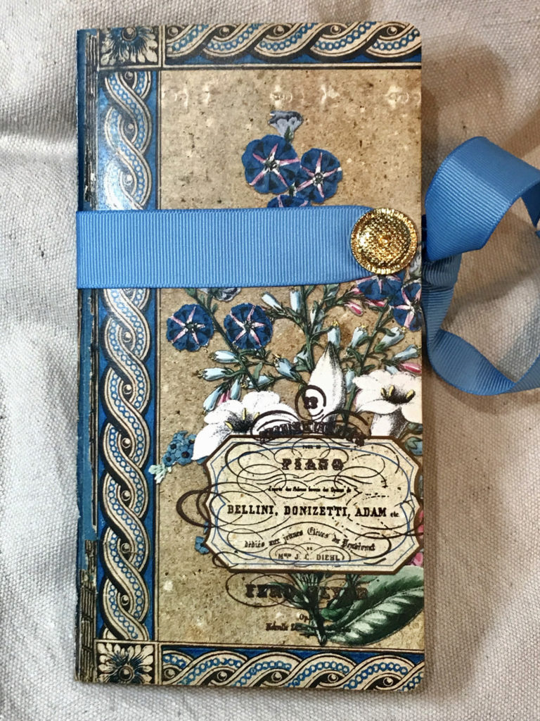 Floral Garden Junk Journal cover