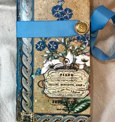floral garden junk journal