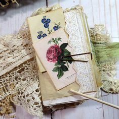 Garden Party Junk Journal