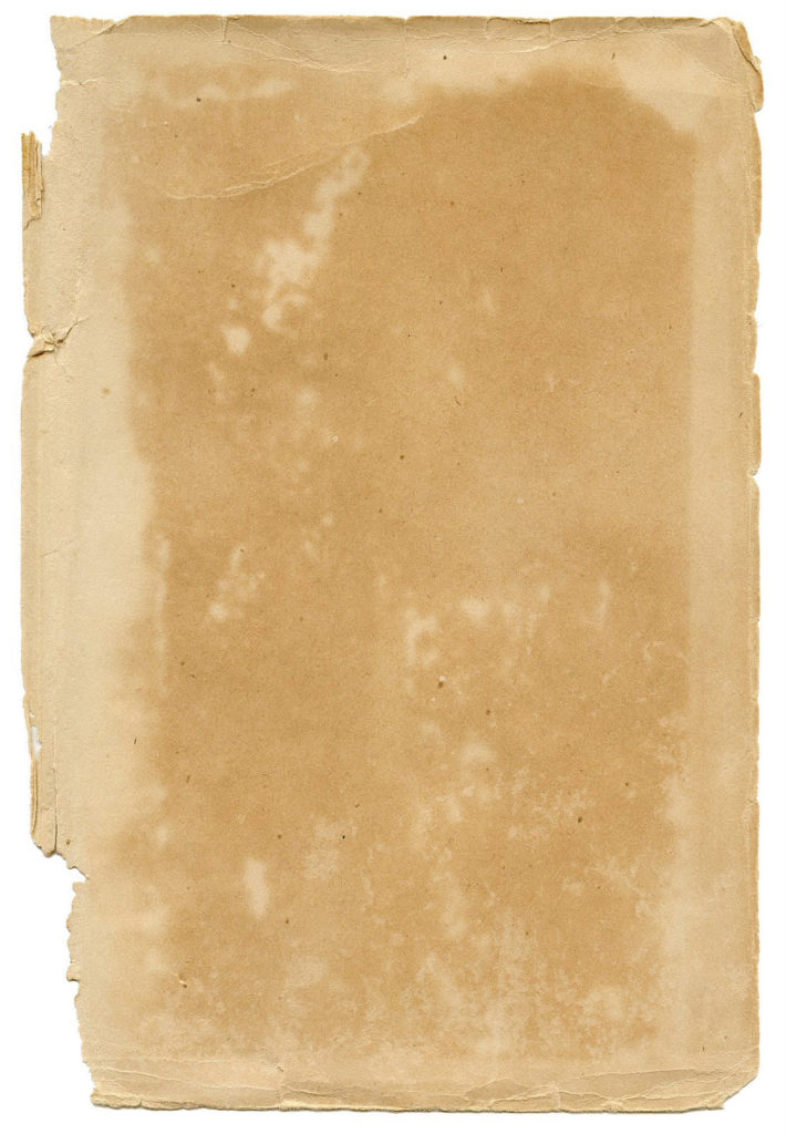 blank antique paper torn edge image