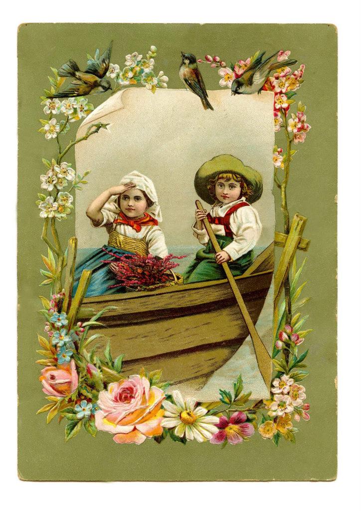 kids boat oar image