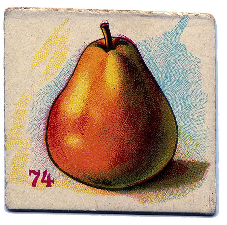 card pear vintage game card image