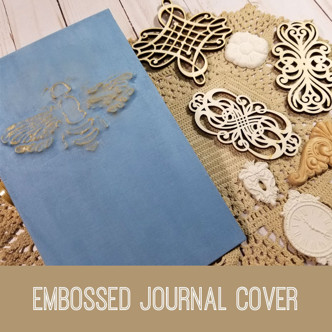 Embossed Bee Journal Cover Tutorial