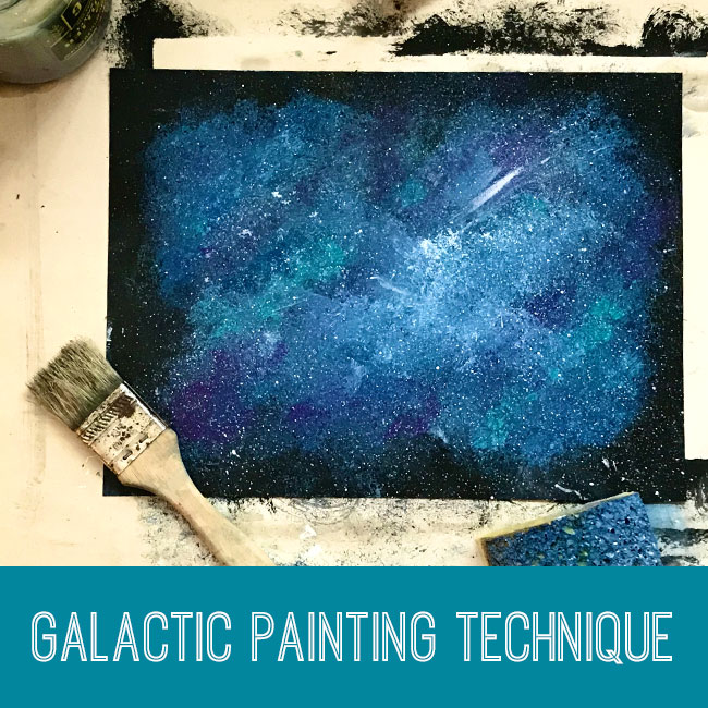 Galactic Painting Technique Tutorial