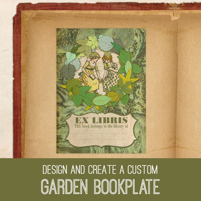 PSE Tutorial Design and Create a Custom Garden Bookplate