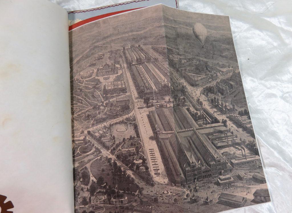 aerial photograph Paris