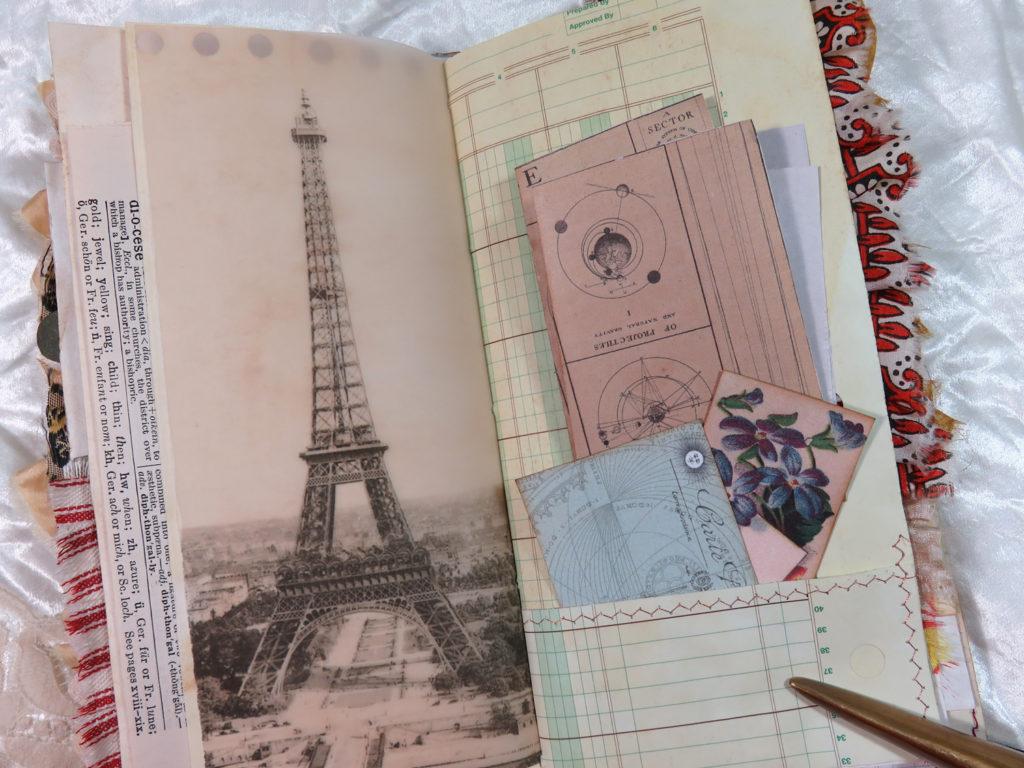 eiffel tower vintage image
