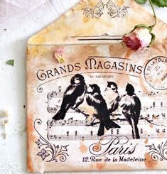 DIY Vintage French Printable Envelopes! - The Graphics Fairy