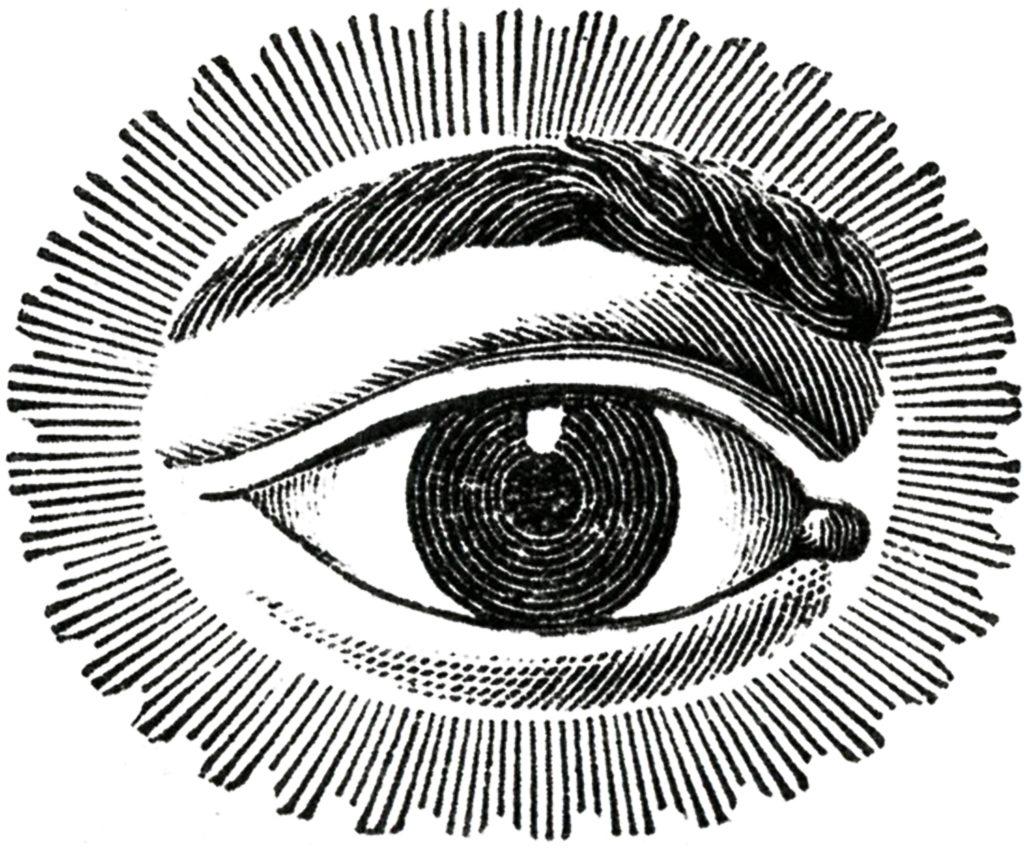 watching eye image