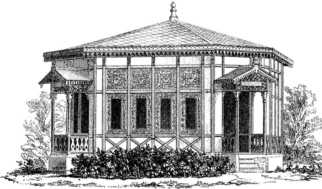 gazebo illustration