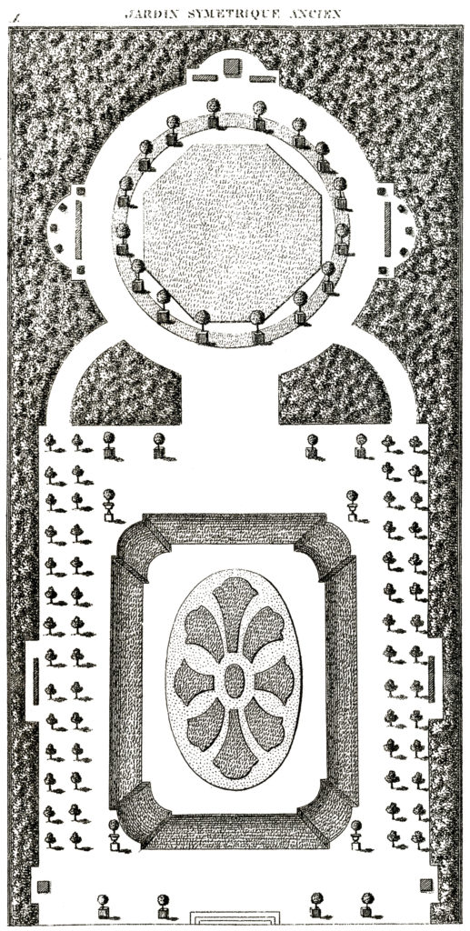 french garden plan image