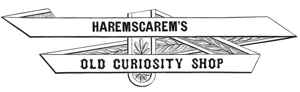 harem scarem old curiosity shop frame image