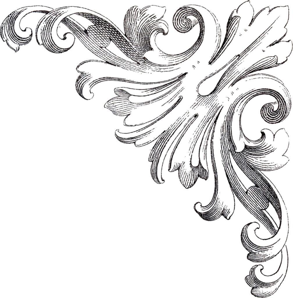Corner Graphic Embellishement