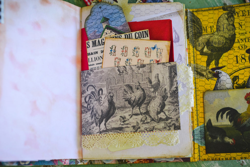 junk journal pocket ephemera