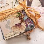 Faded Florals Junk Journal