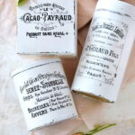 DIY French Chic Repurposed Containers