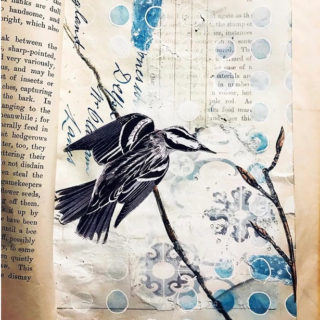 Jane Willow Blue Vintage Journal