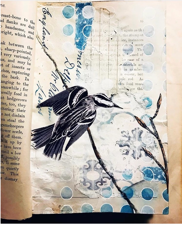 Jane Willow Blue Vintage Journal