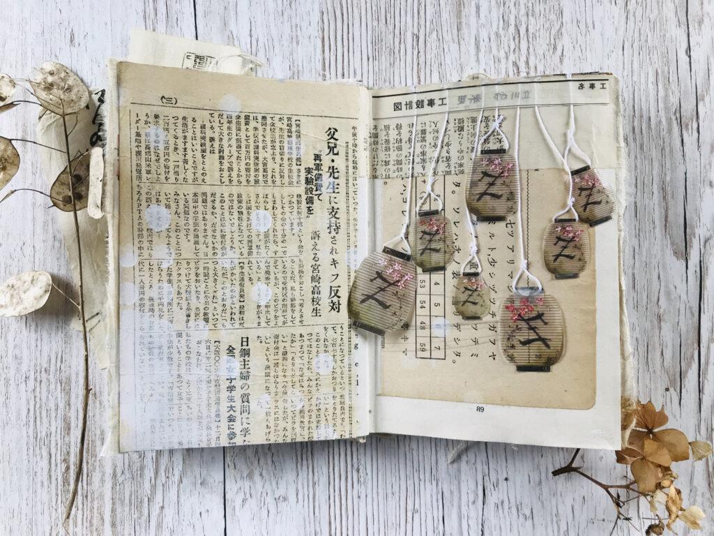 japanese lanterns string embellishment