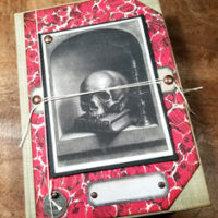 Edgar Allan Poe Junk Journal
