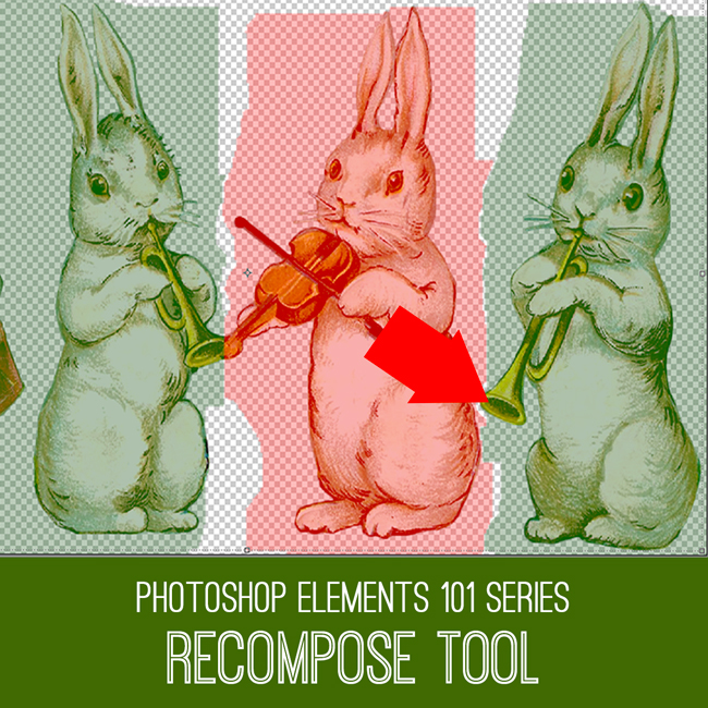 PSE tutorial Recompose Tool