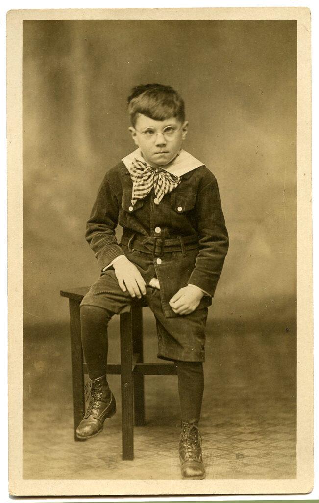 vintage cranky angry boy photograph image