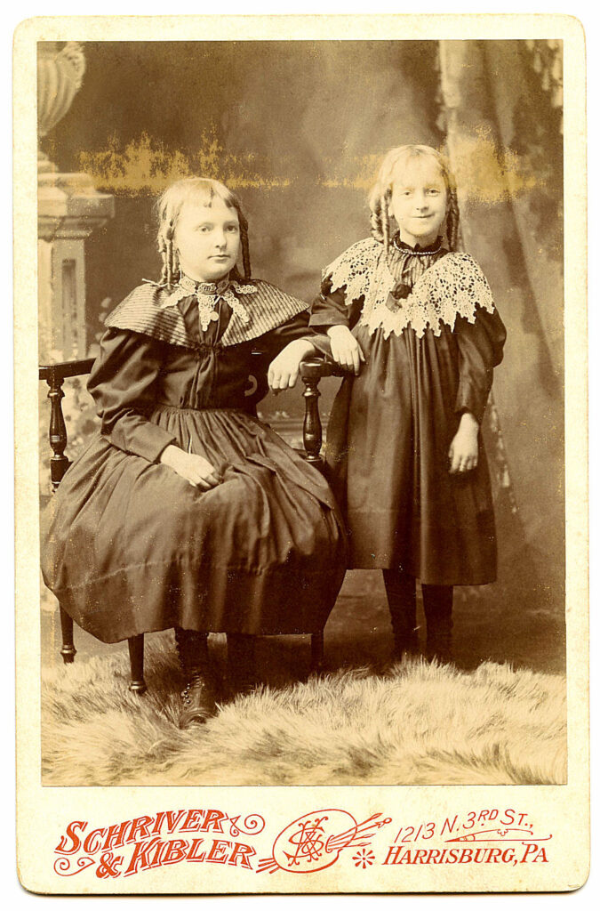 spooky sisters victorian photo image