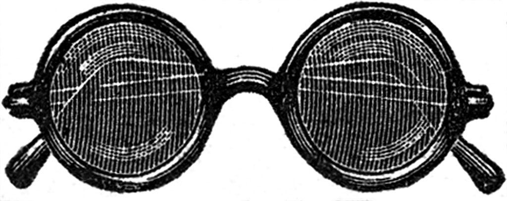 Vintage Sunglasses Clipart