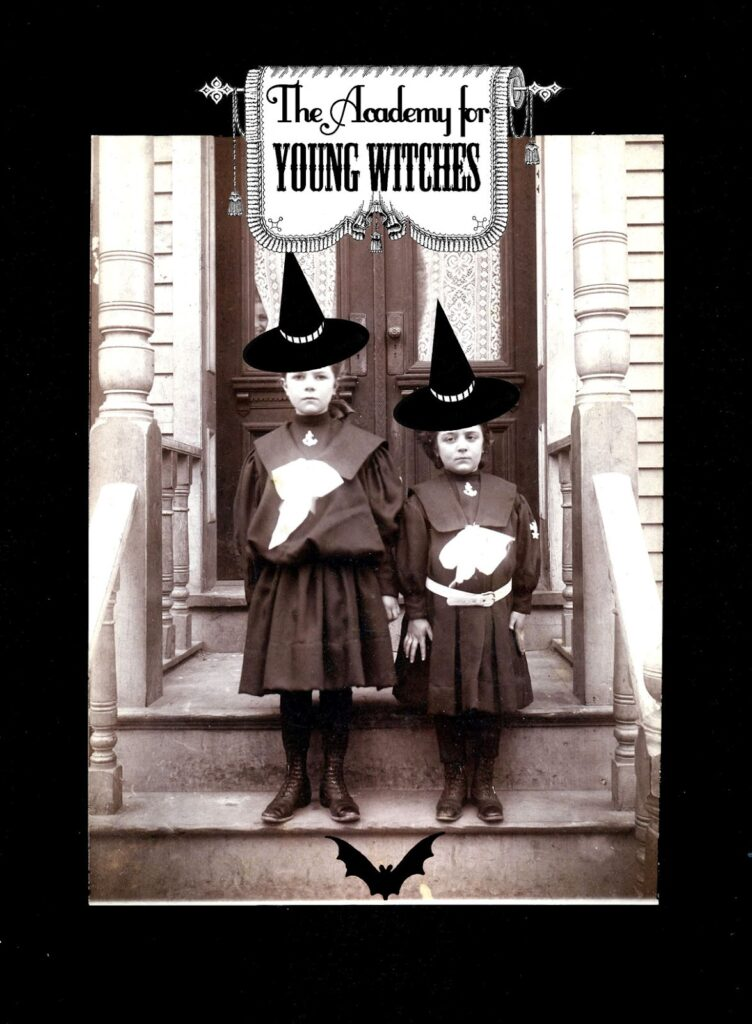 spooky sister witches photo image