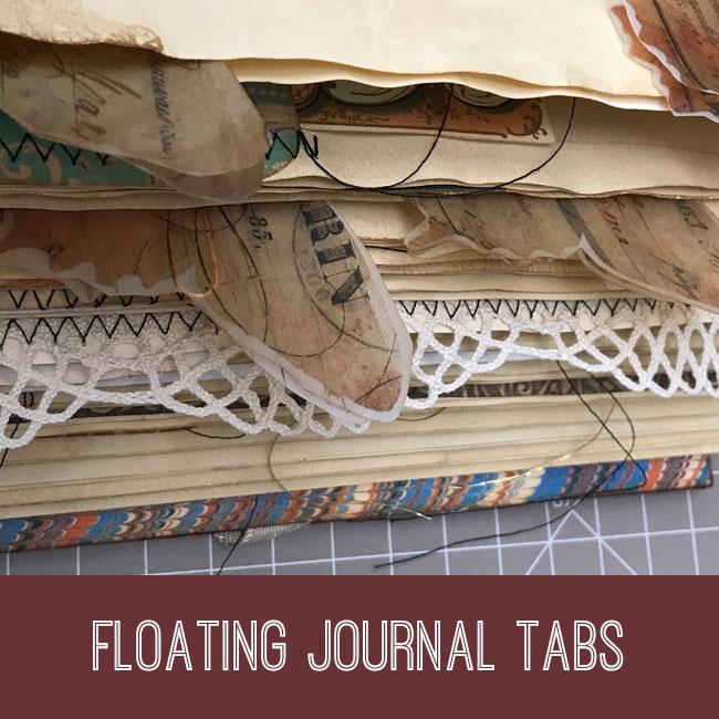 floating journal tabs tutorial