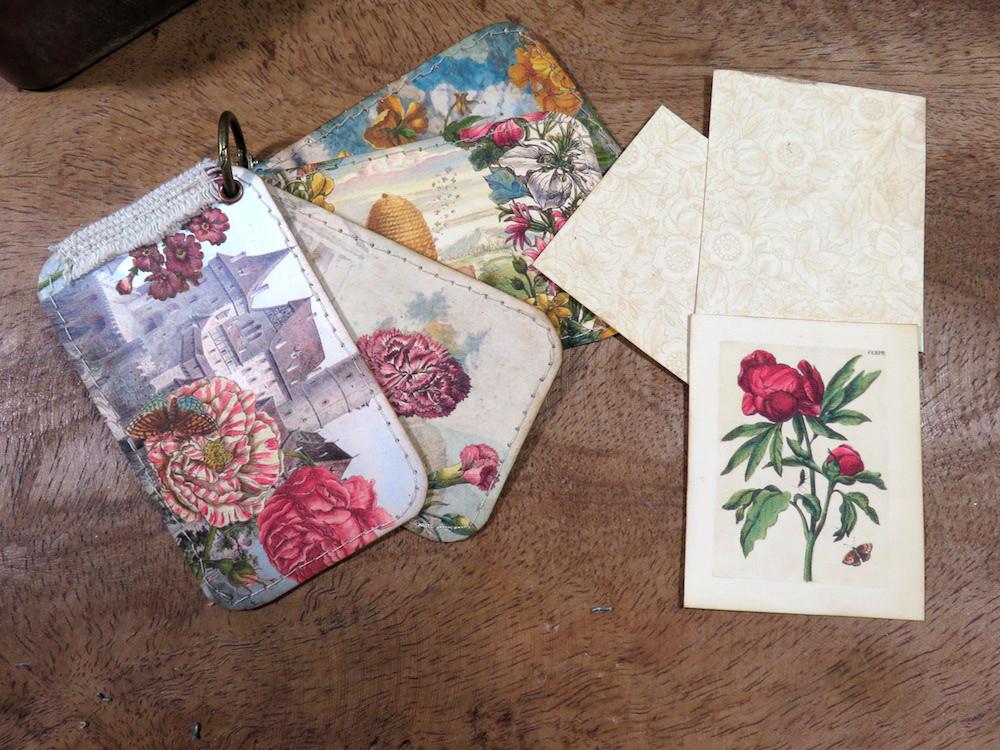 ring bound journaling cards