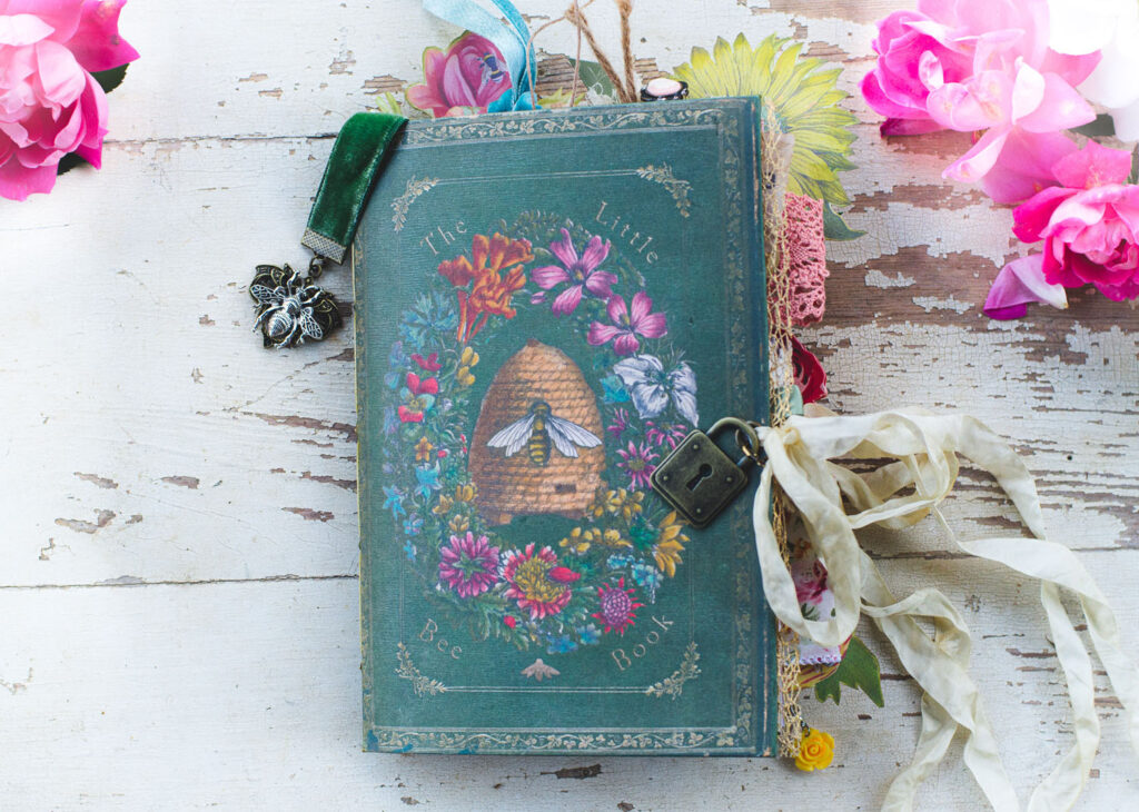 Bee Lover's Junk Journal Cover