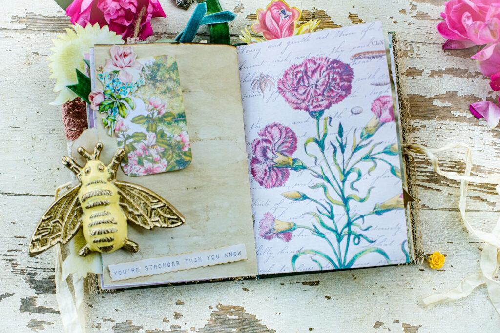 altoid tin journaling card