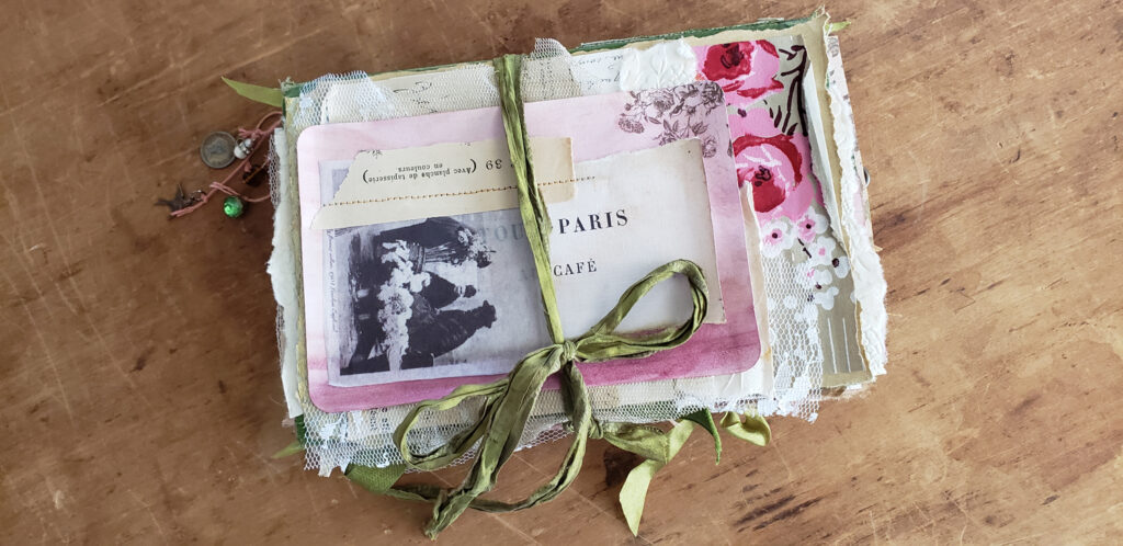 Parisian Flower Market Junk Journal cover