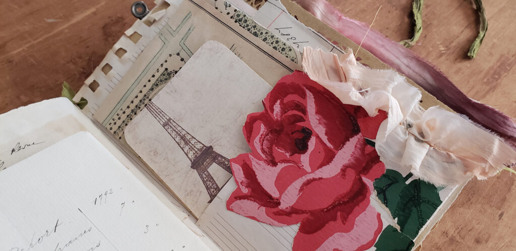flower market journal page