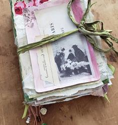 Parisian Flower Market Junk Journal