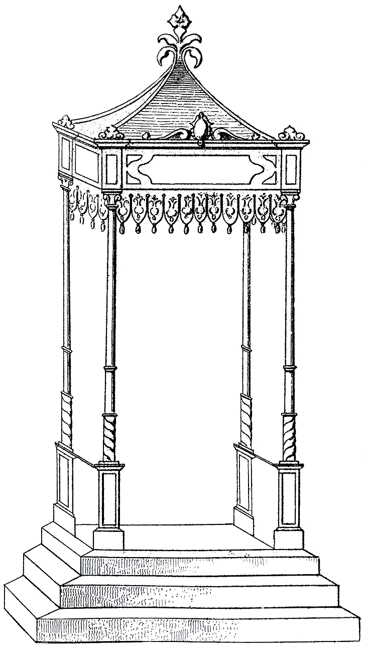 French Garden Structure
