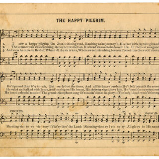 the happy pilgrim sheet music image