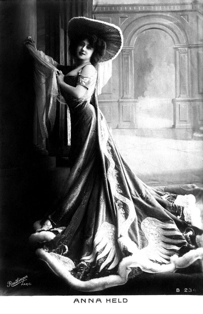 lady velvet gown hat photo image