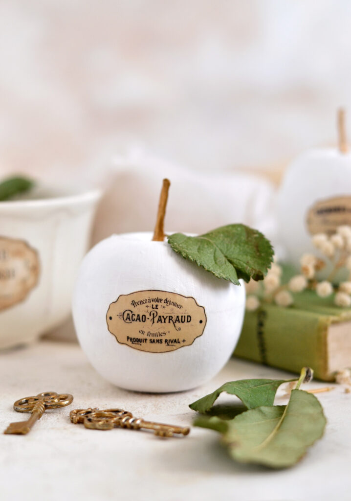 DIY Faux Ceramic French Apples