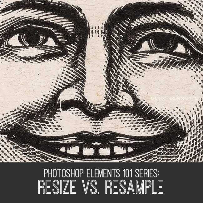 PSE Tutorial resize vs resample