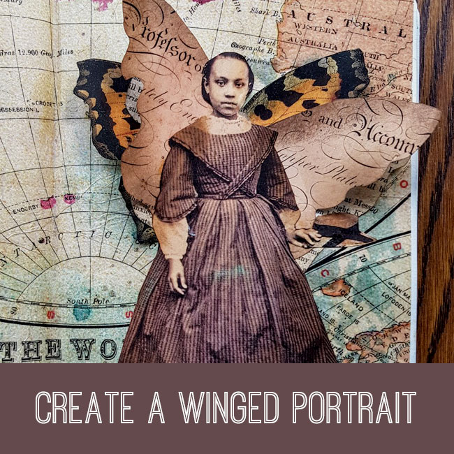 Create a Winged Portrait Tutorial