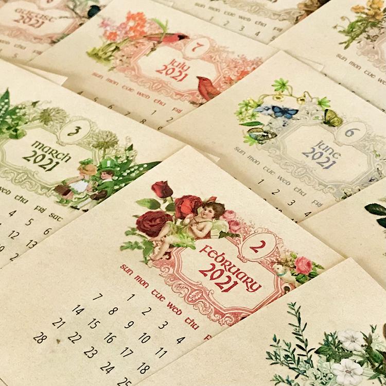 Free Printable Calendar 2021 - CD Case Calendar! - The ...