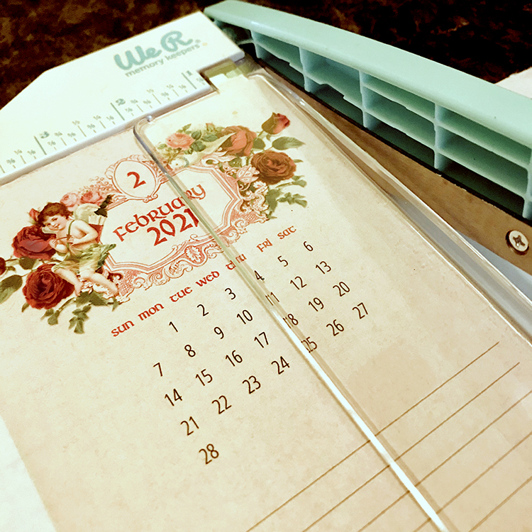 2021 Calendar Trimming