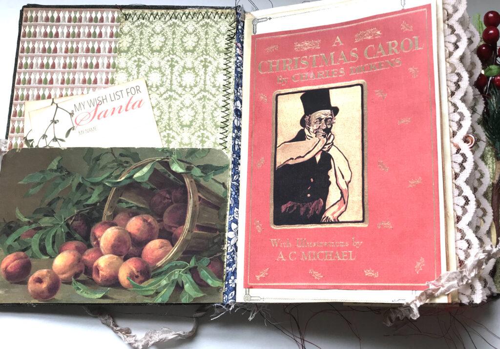 Christmas Carol journal page